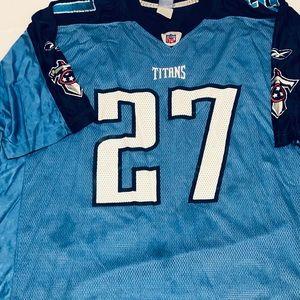 Vtg Tennessee Titans Eddie George #27 Jersey xl